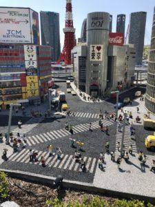 レゴの渋谷の写真